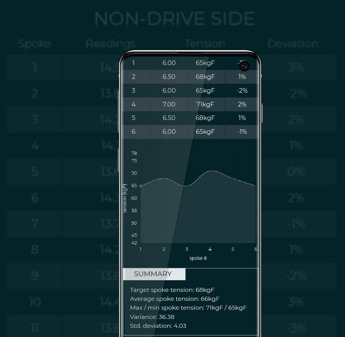 wheel tension app